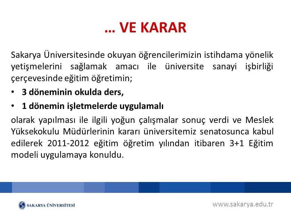 Sakarya Üniversitesinde okuyan öğrencilerimizin istihdama yönelik yetişmelerini sağlamak amacı ile üniversite sanayi işbirliği çerçevesinde eğitim öğr