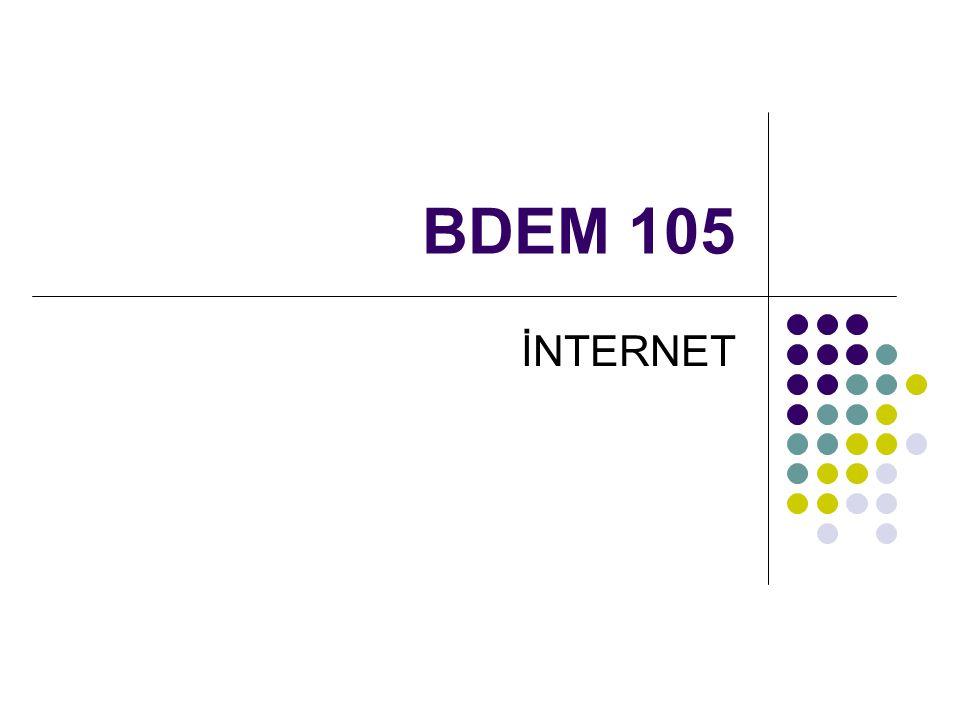 IP Adresi İnternet'te her bilgisayarın bir IP (internet protokol) adresi vardır.