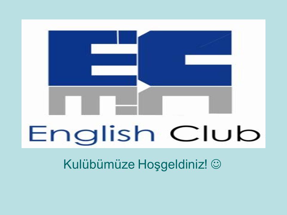 Kulübümüze Hoşgeldiniz!