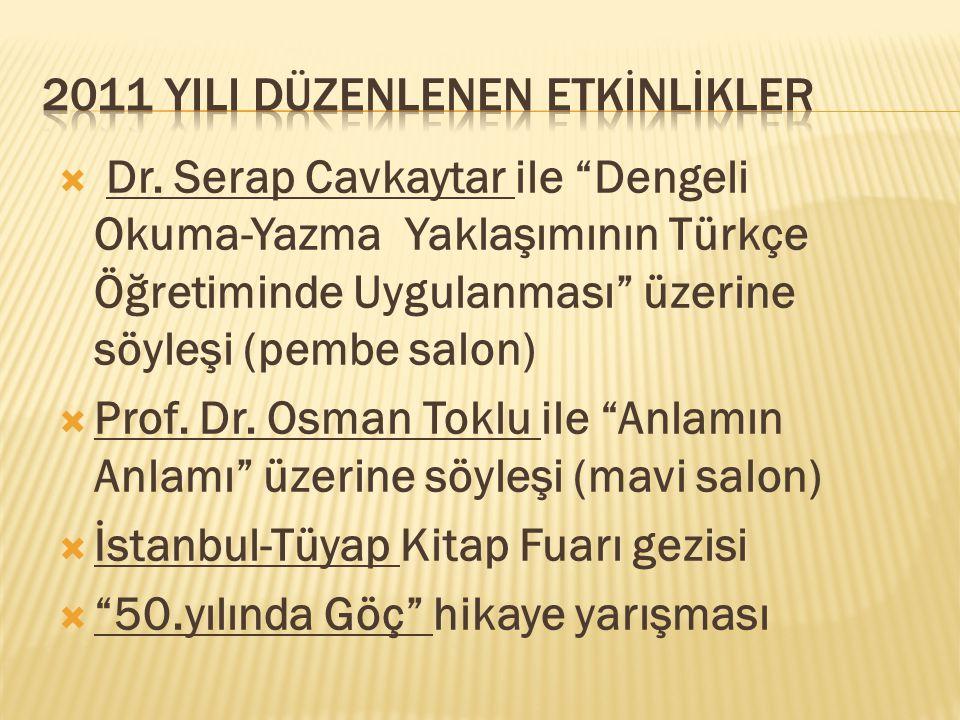 Mehmet Güler ve Miyase Sertbarut ile Sokaktaki Dil konulu panel (mavi salon) Ankara Devlet Tiyatrosu gezisi Ramazan Çelik yardım konseri Safahat Ahmet Yenilmez tiyatrosu Dr.