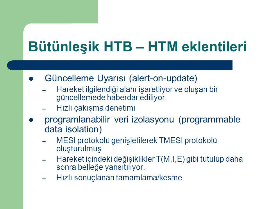 Bütünleşik HTB – HTM eklentileri Güncelleme Uyarısı (alert-on-update) – Hareket ilgilendiği alanı işaretliyor ve oluşan bir güncellemede haberdar ediliyor.
