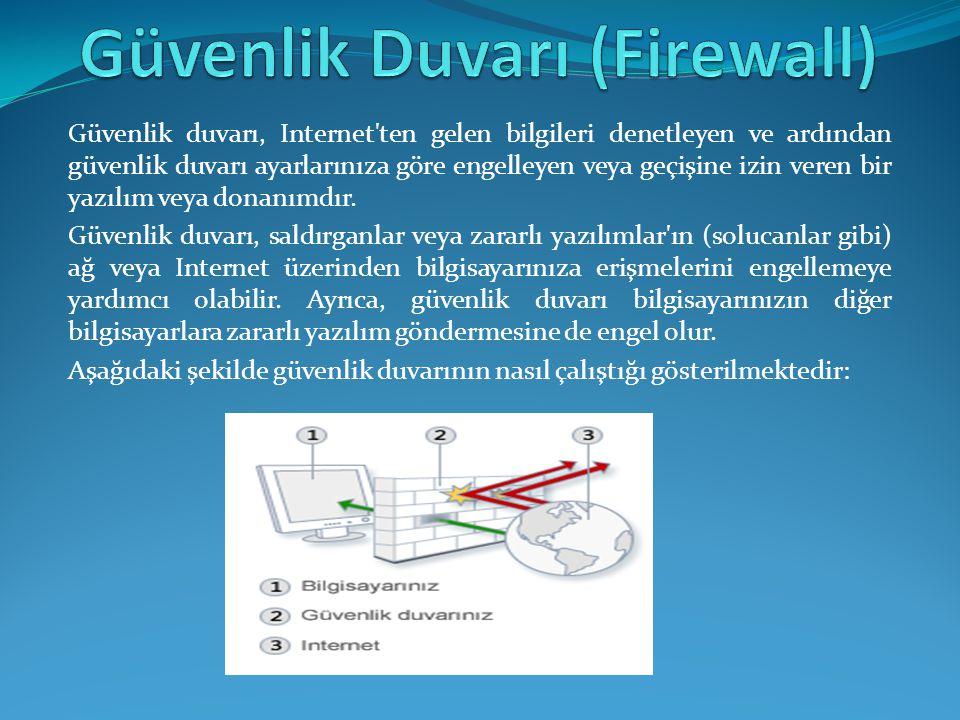 Ağ ateş duvarları erişim kontrol kararlarını verirken iki güvenlik mantığı yaklaşımını kullanır.