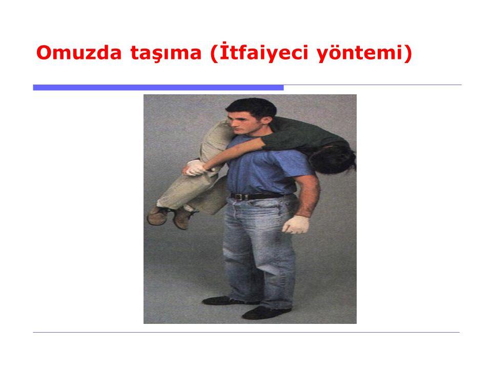 Omuzda taşıma (İtfaiyeci yöntemi)