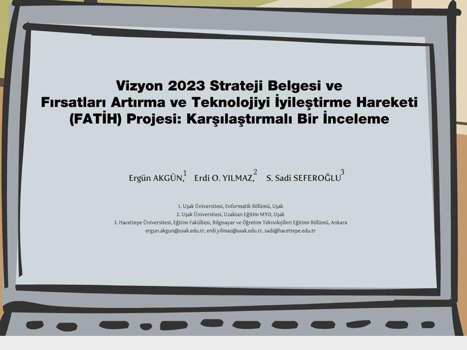 AKADEMİK BİLİŞİM 2011 İNÖNÜ ÜNİVERSİTESİ / MALATYA