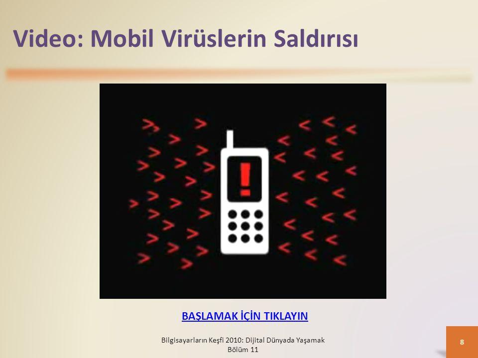 Video: Mobil Virüslerin Saldırısı Bilgisayarların Keşfi 2010: Dijital Dünyada Yaşamak Bölüm 11 8 BAŞLAMAK İÇİN TIKLAYIN