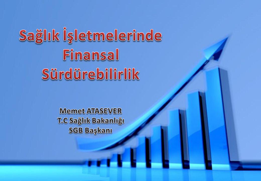 Sunum İçeriği 1- Giriş 2- Sağlık Göstergelerindeki İyileşmeler 3- Sağlık İşletmelerinde Finansal Yönetim 4- Finansal Yönetimde Dikkat Edilmesi Gereken Hususlar 5- Sonuç 2