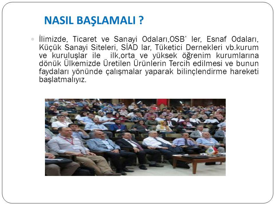 NASIL BAŞLAMALI .