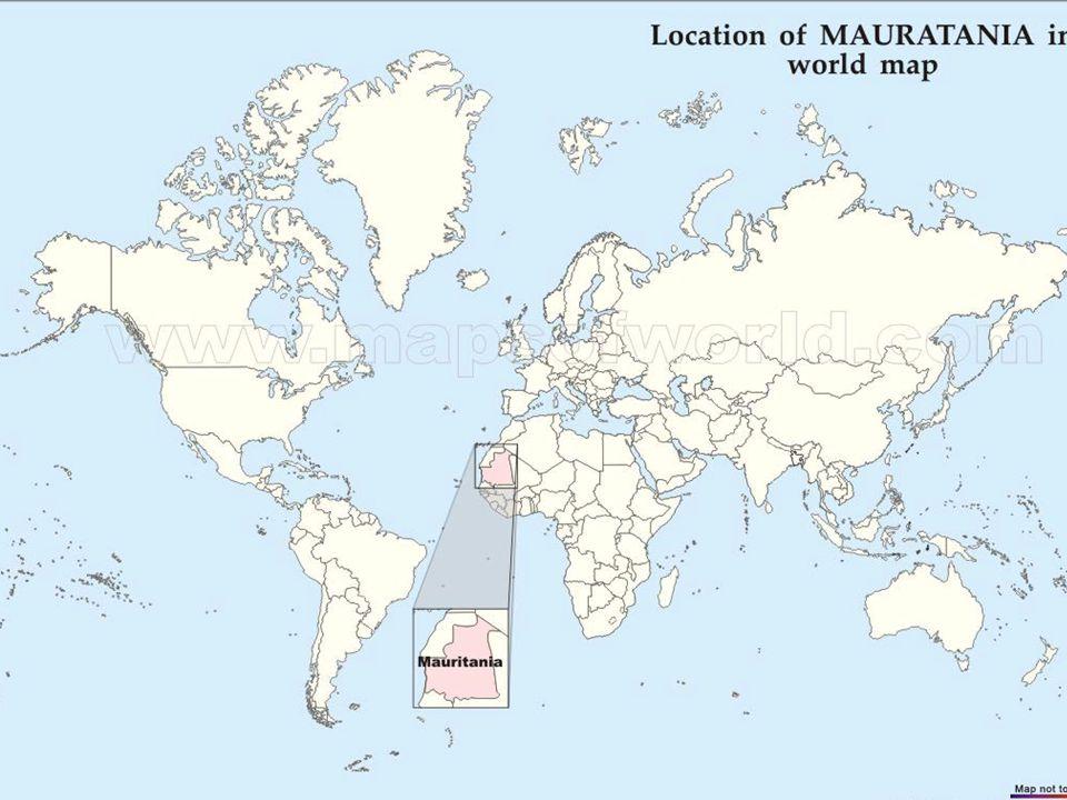 ÜLKENİN KİMLİĞİ Afrika'nın kuzey batısında, Afrika Sahrasının batısından Atlas Okyanusuna kadar uzanan, çöllerle kaplı bir ülkedir.