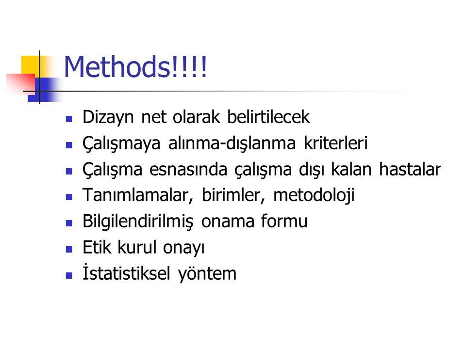 Methods!!!.