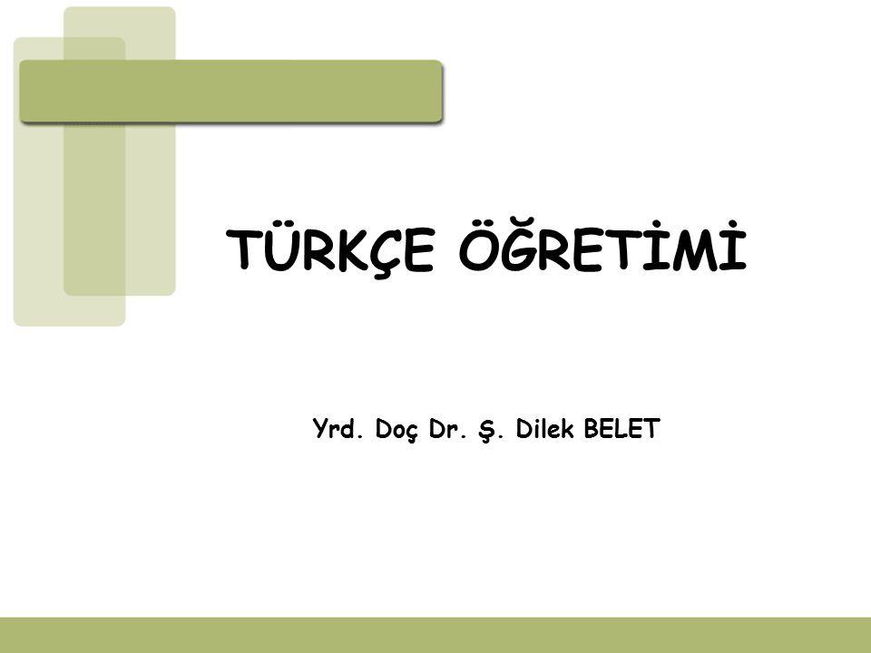 İÇİNDEKİLER Türkçe öğretiminin önemi Türkçe öğretiminin kapsamı Türkçe öğretiminin ilkeleri Türkçe öğretimine yönelik öneriler