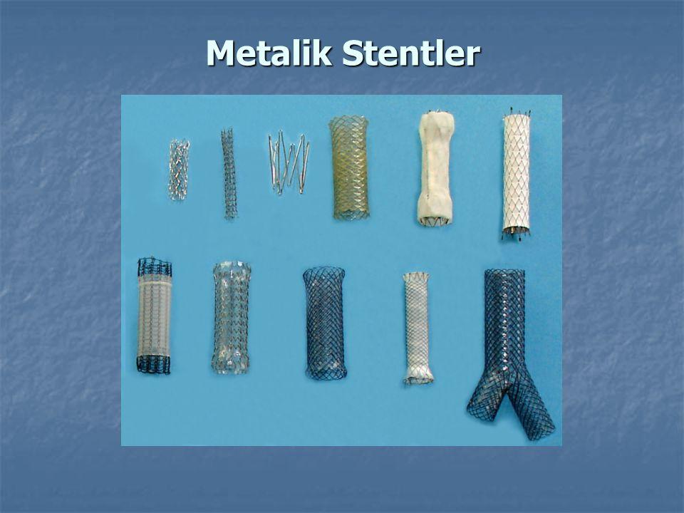 Metalik Stentler