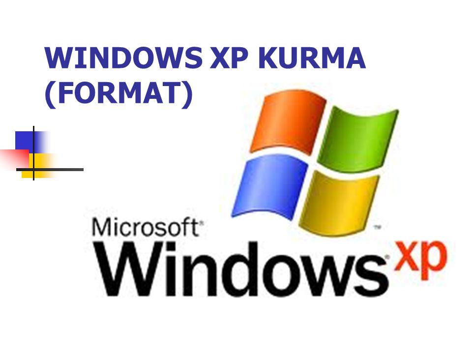 Format atmak demek bir bilgisayara işletim sistemini yeniden kurmak demektir.
