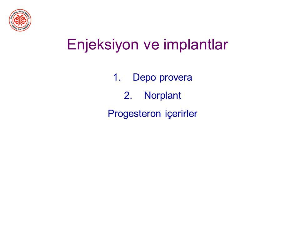 Oral kontraseptiflerin Avantajları –Hata oranı<%1 –Eğitim gerekmiyor –Ovaryum kistleri, iyi huylu meme tümörü riskini azaltır. Düzensiz siklüsleri, di