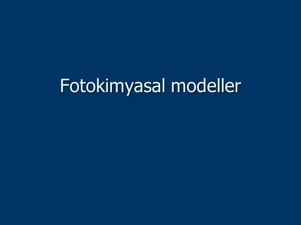 Fotokimyasal modeller