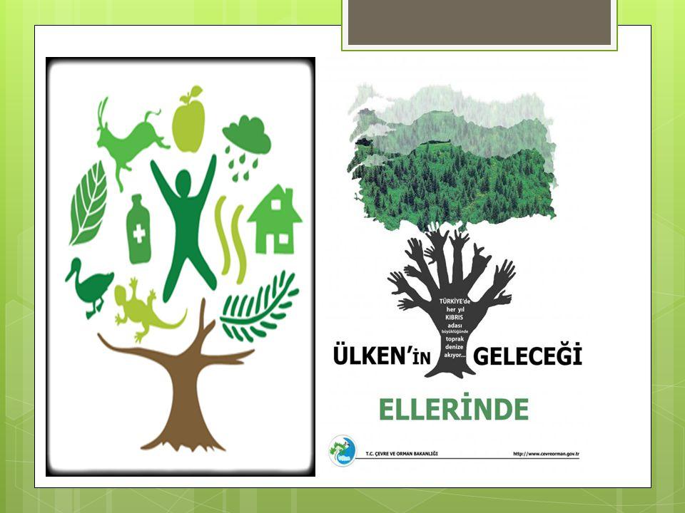 Çevre Koruma Haftası ile İlgili Güzel Sözler · Biz doğayı korudukça doğa da bizi korur.