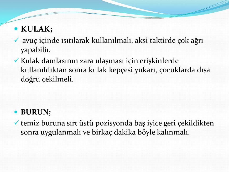 İLAÇ UYGULAMA 2 1.