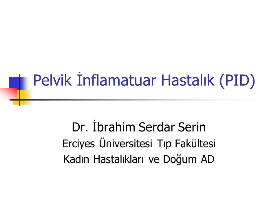 Pelvik İnflamatuar Hastalık (PID) Dr.