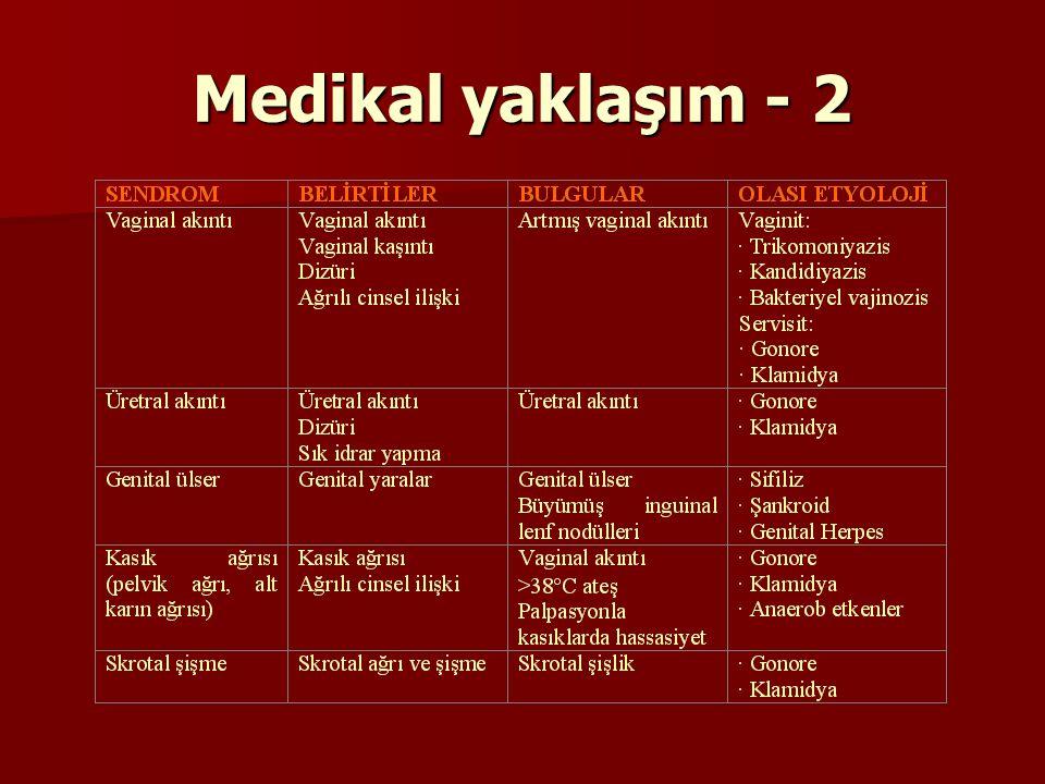 Medikal yaklaşım - 2