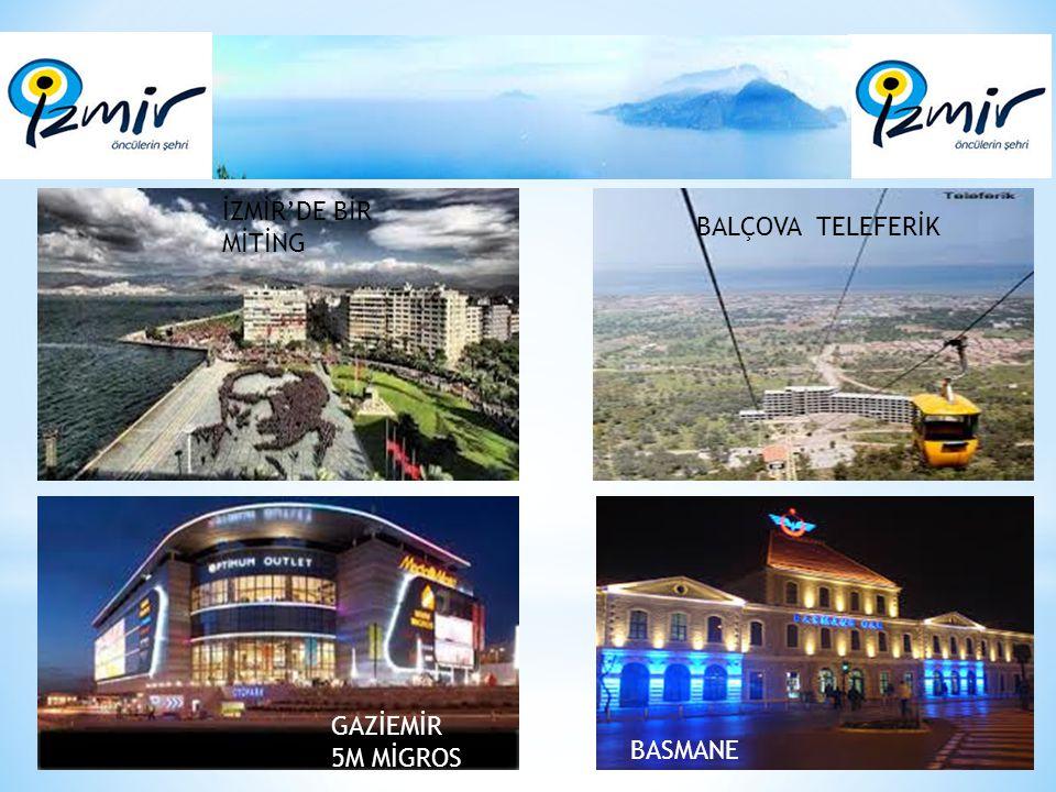 * Eski İzmir kenti (Smyrna), körfezin kuzeydoğusunda yer alan ve yüzölçümü yaklaşık yüz dönüm olan bir adacık üzerinde kurulmuştu.