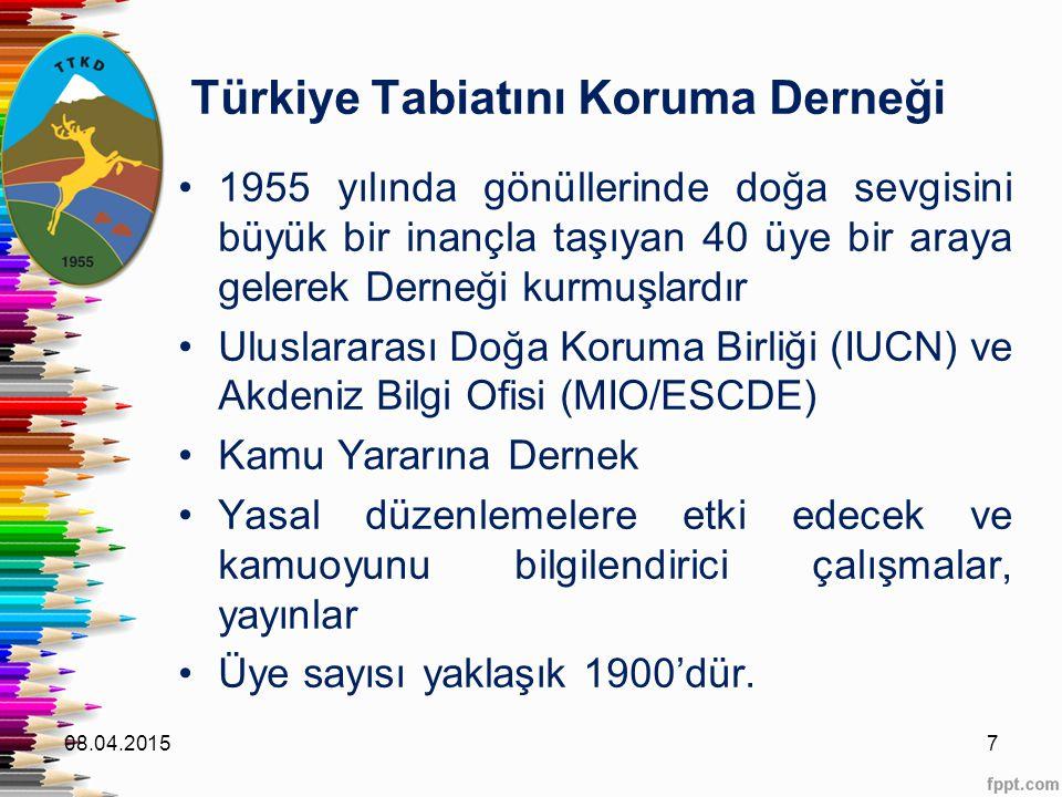 Türkiye Tabiatını Koruma Derneği 1955 yılında gönüllerinde doğa sevgisini büyük bir inançla taşıyan 40 üye bir araya gelerek Derneği kurmuşlardır Ulus
