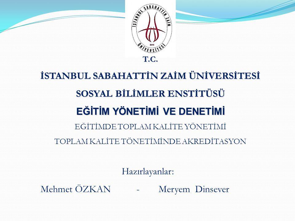 TÜRKİYE'DE EĞİTİM AKREDİTASYONU Kaynak : Mutlu Tunç Egitim ve Danısmanlık 2008 Yılı Verilerine Göre TURKAK (Türk Akreditasyon Kurumu) Laboratuvar Akreditasyonları