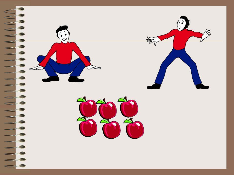 Soru: 2 kişi 6 tane elmayı eşit olarak paylaşıyor. Her çocuğa kaç elma düşer?