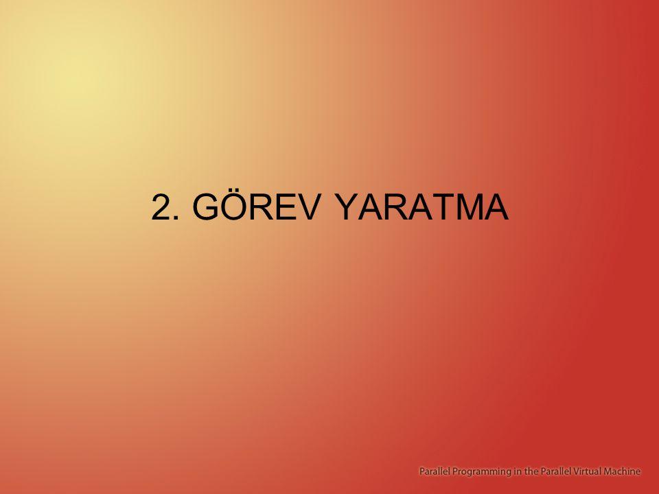 2. GÖREV YARATMA