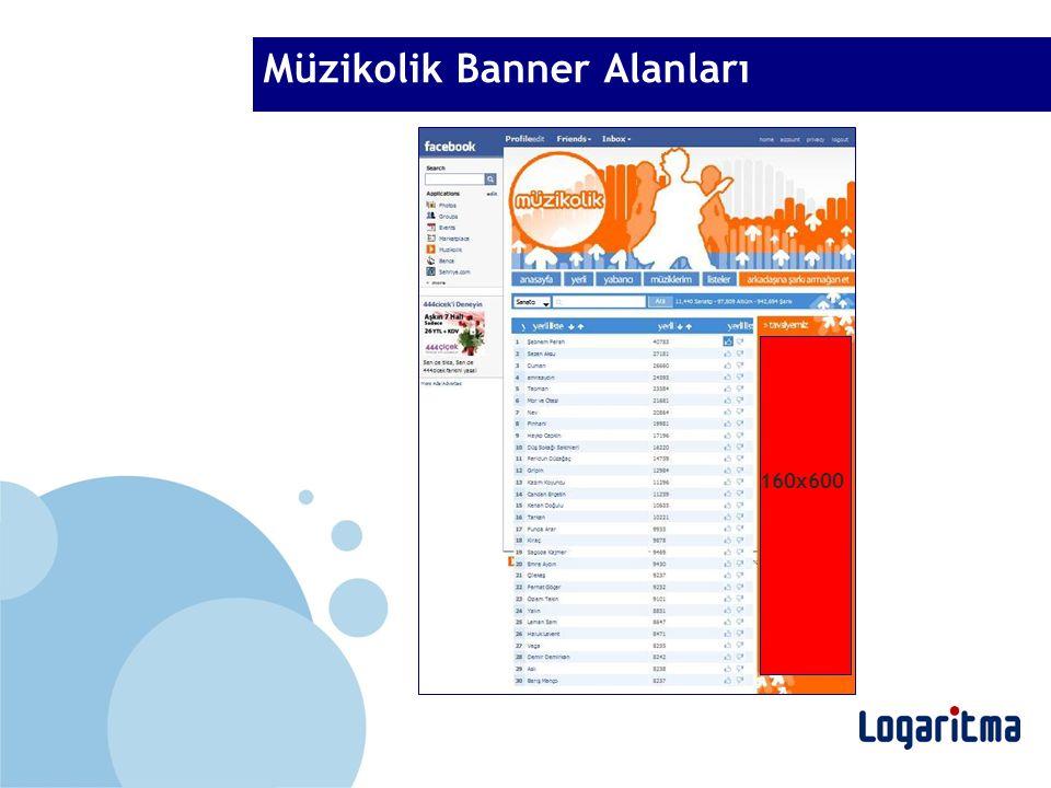 Müzikolik Banner Alanları 160x600
