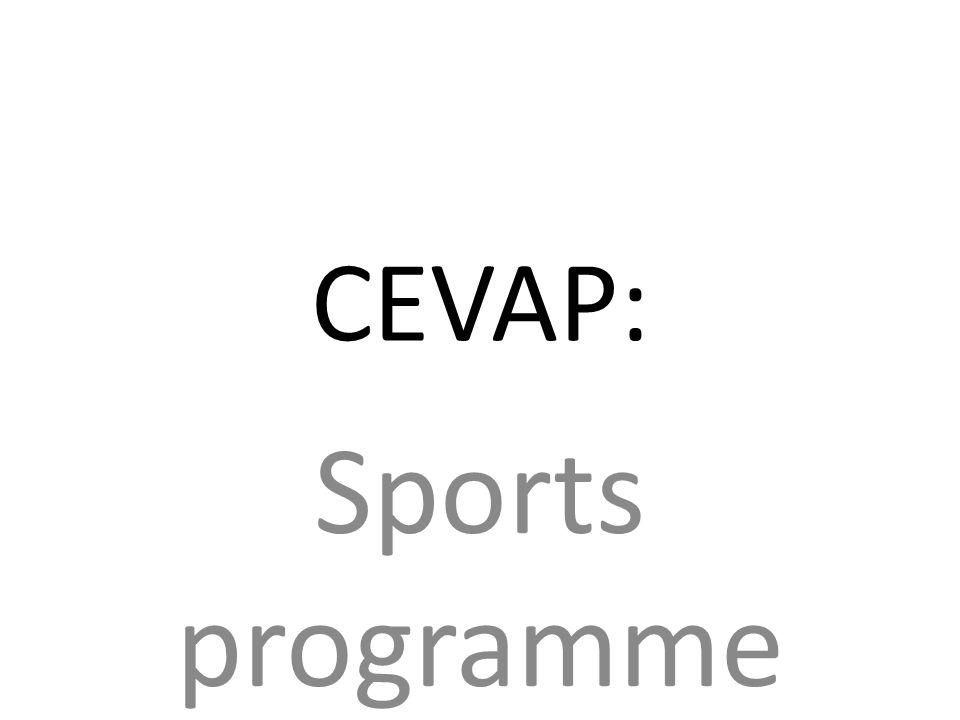 CEVAP: Sports programme