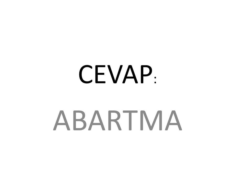 CEVAP : ABARTMA