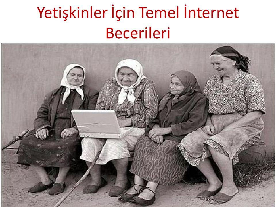 Yetişkinler İçin Temel İnternet Becerileri
