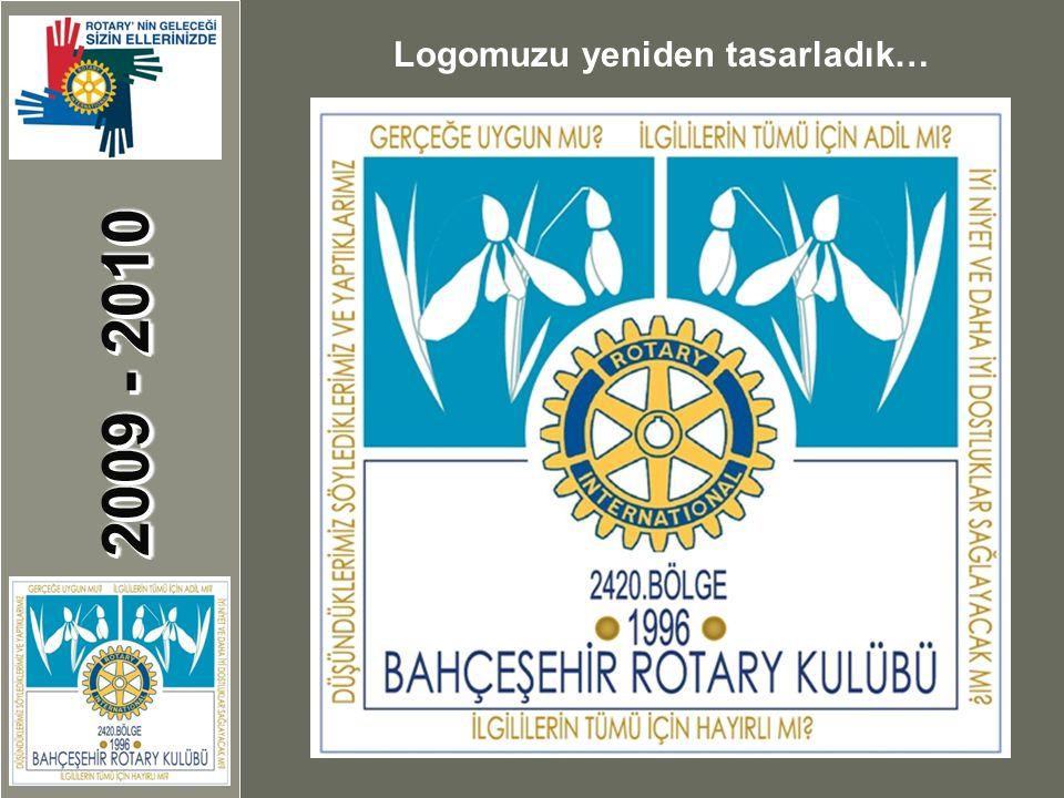 2009 - 2010 Logomuzu yeniden tasarladık…