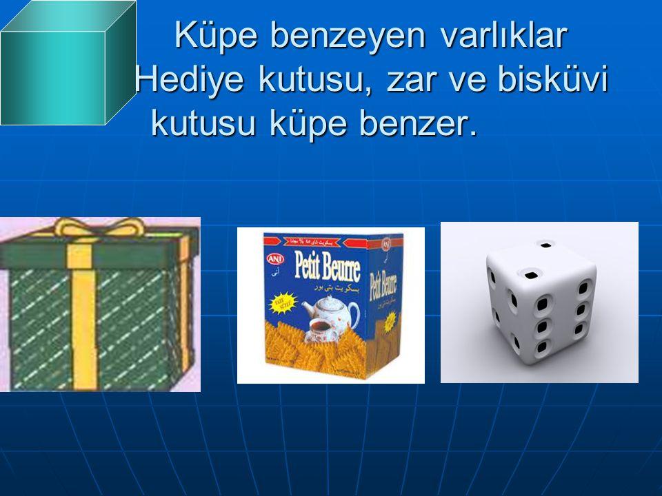 Küpe benzeyen varlıklar Hediye kutusu, zar ve bisküvi kutusu küpe benzer. Küpe benzeyen varlıklar Hediye kutusu, zar ve bisküvi kutusu küpe benzer.