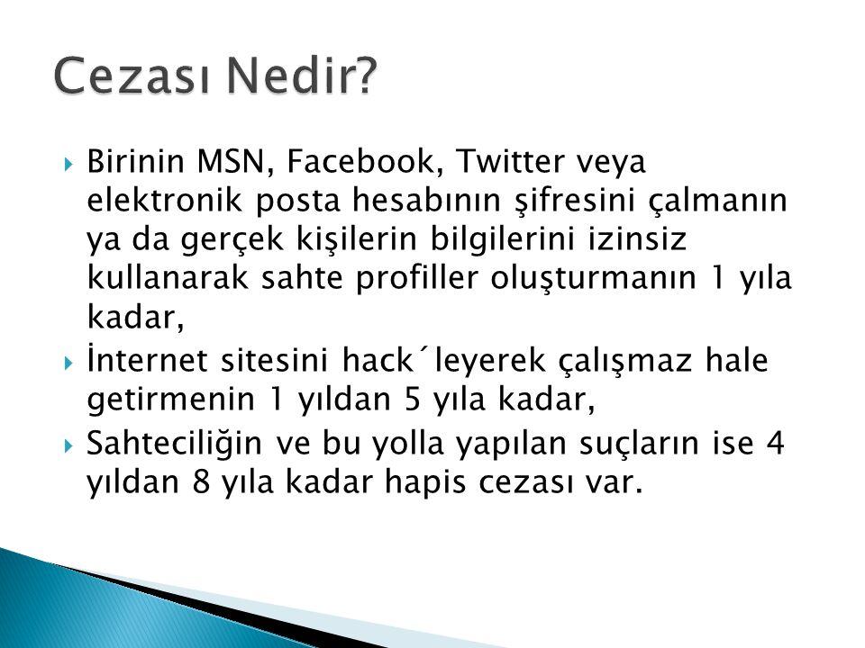  Sosyal medyada paylaştığın bilgilere dikkat etmelisin..