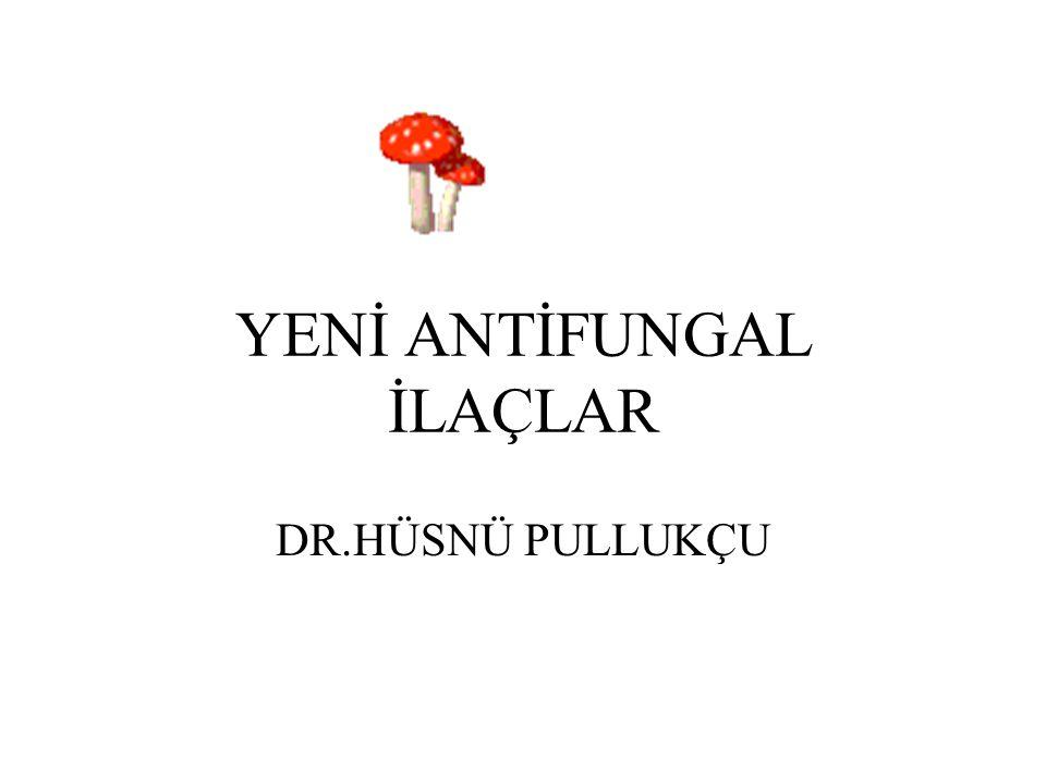 YENİ ANTİFUNGAL İLAÇLAR DR.HÜSNÜ PULLUKÇU