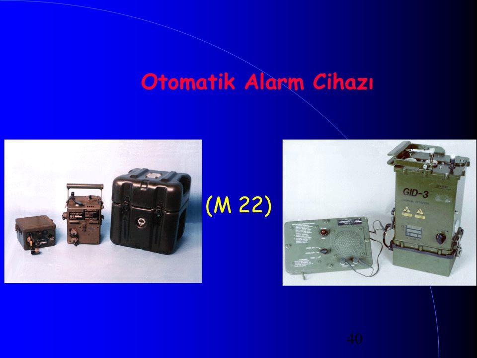 40 Otomatik Alarm Cihazı (M 22)