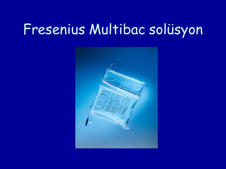 Fresenius Multibac solüsyon