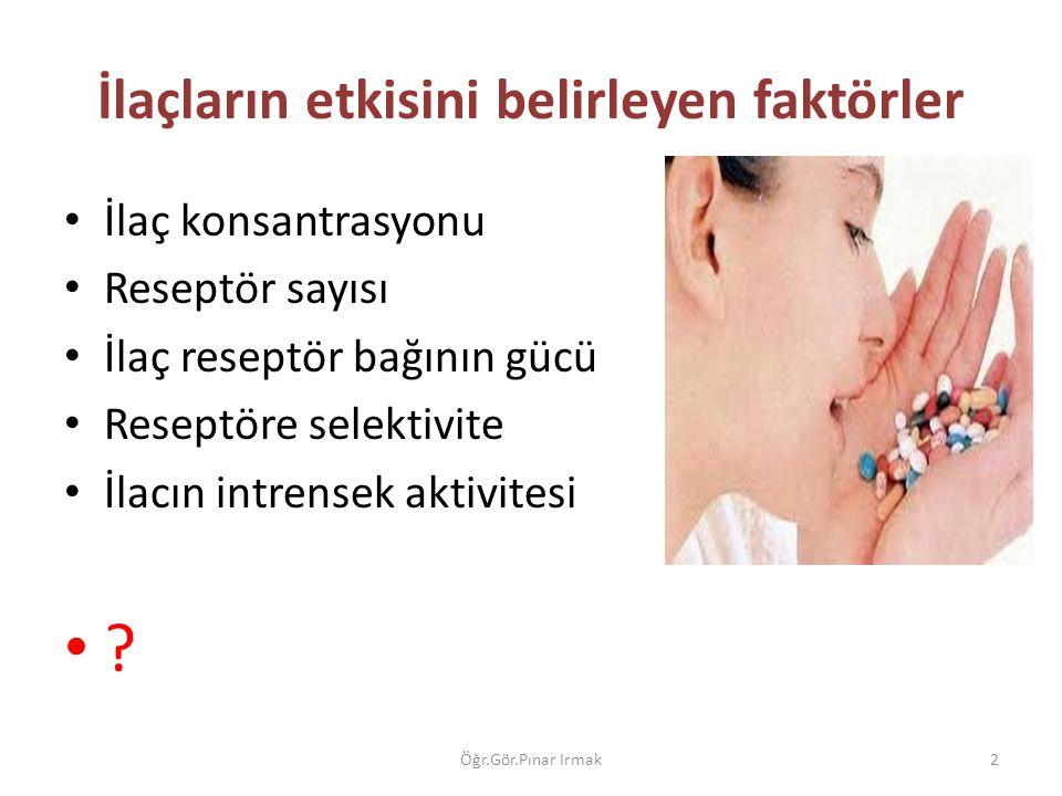 PLASEBO ??? 23Öğr.Gör.Pınar Irmak