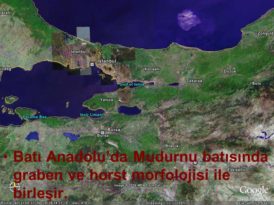NEOTEKTONİK Doç.Dr. Yaşar EREN Batı Anadolu'da Mudurnu batısında graben ve horst morfolojisi ile birleşir.