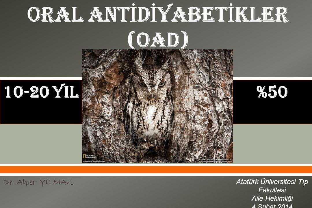  Dr. Alper YILMAZ Atatürk Üniversitesi Tıp Fakültesi Aile Hekimliği 4 Şubat 2014 10-20 YIL%50
