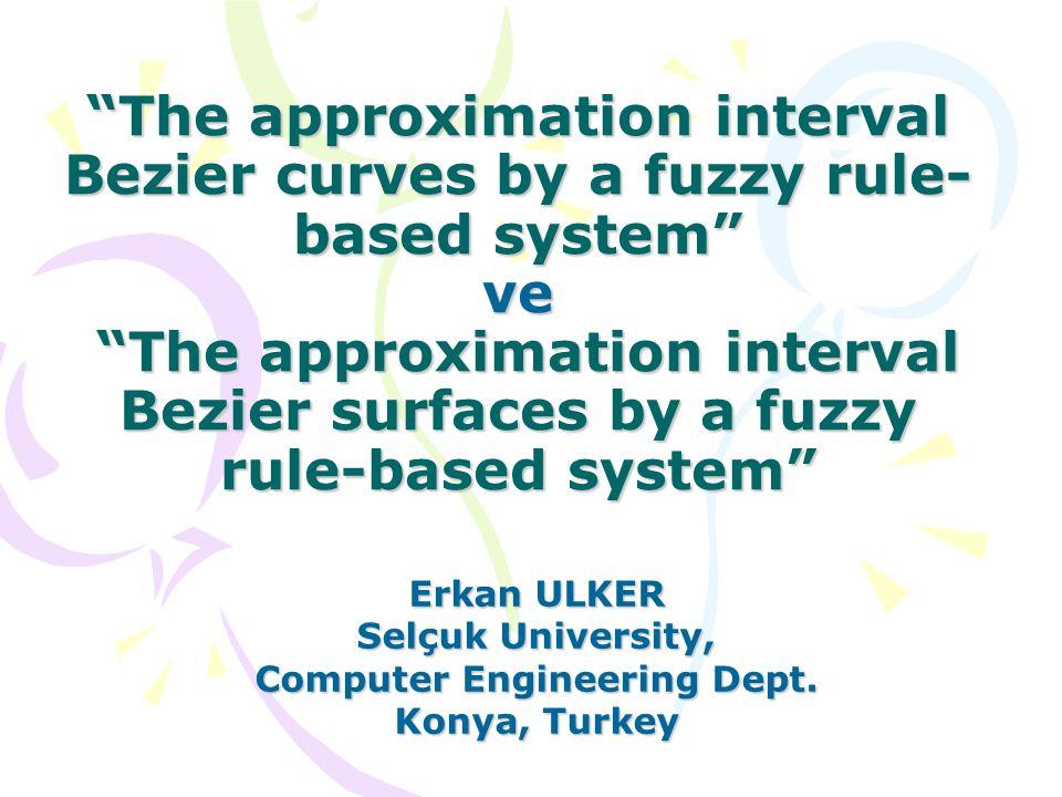Yüzeye genişletme ve yüzey kontrol noktalarının tahmini Deneylerden görüldüğü gibi önerdiğimiz algoritma eğri derecelerini verilen noktalardan belirleyebilmektedir.