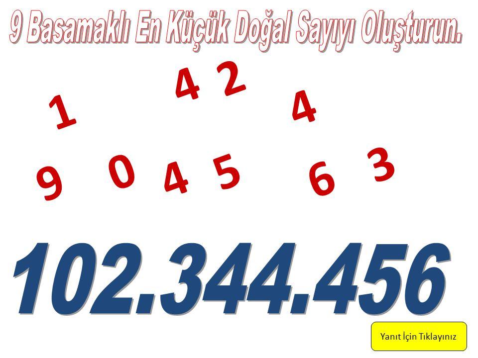 Yanıt İçin Tıklayınız 1 2 6 0 9 4 5 4 3 4