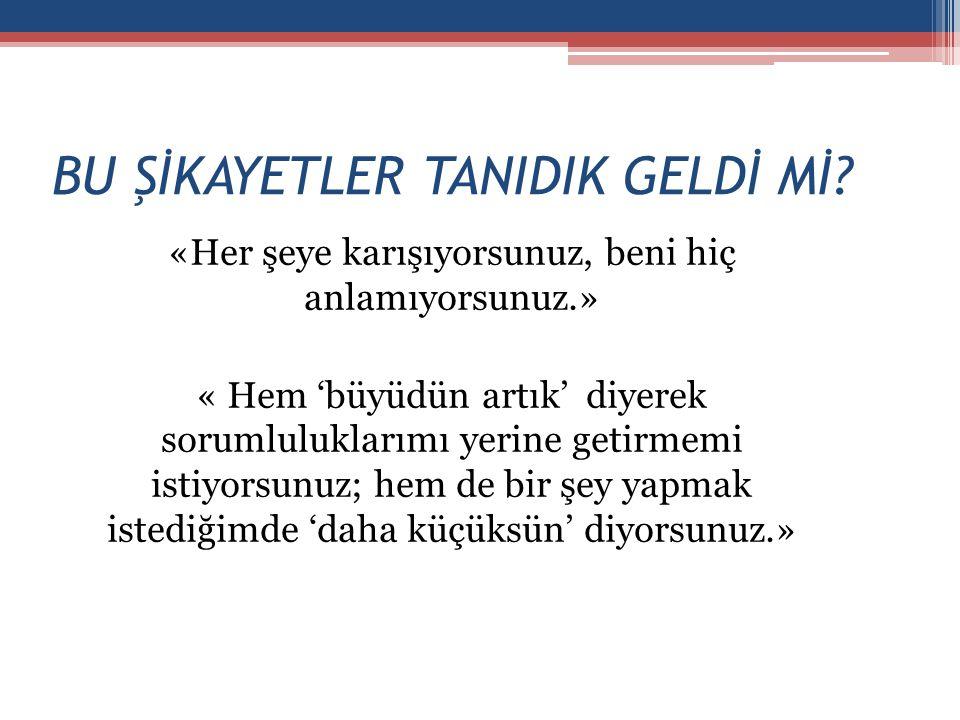 BU ŞİKAYETLER TANIDIK GELDİ Mİ.