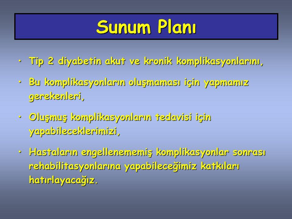 Akut Hipoglisemi Semptomları 1.Adrenerjik Bulgular Titreme Titreme Soğuk terleme Soğuk terleme Anksiyete Anksiyete Bulantı Bulantı Çarpıntı Çarpıntı 2.
