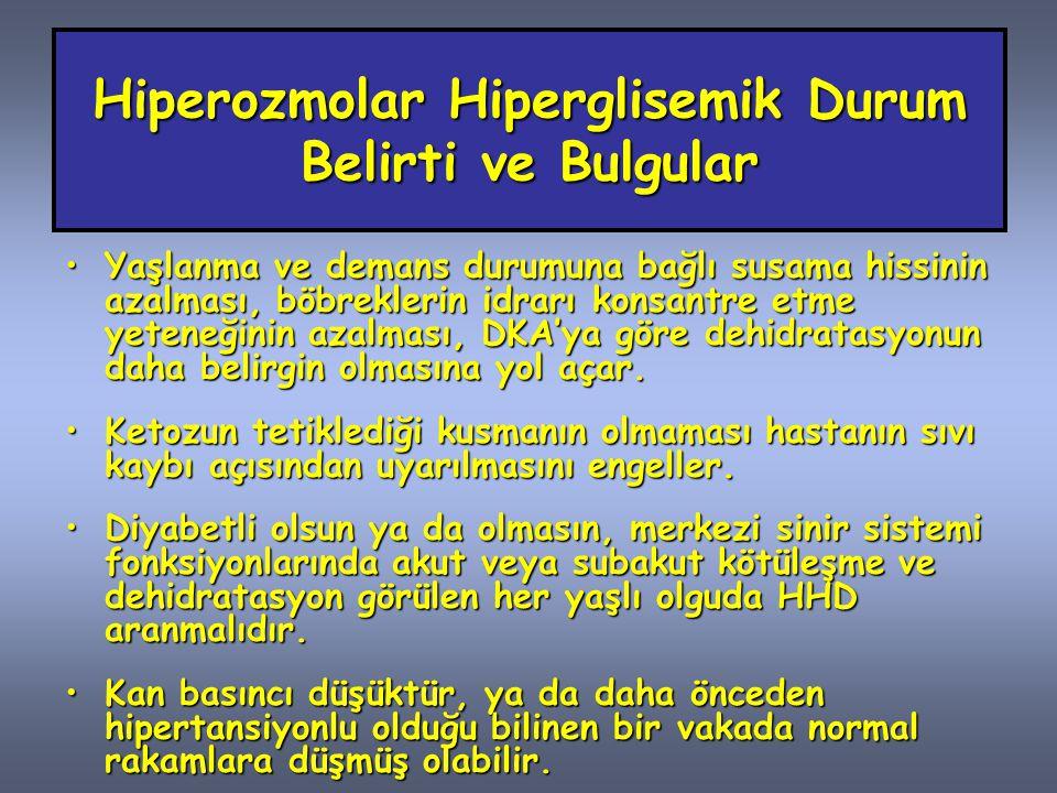 Diyabetik Nefropati Sessiz nefropati (Evre 1,2)Sessiz nefropati (Evre 1,2) Glomeruler hiperfiltrasyon (GFR> 150 ml/dk) Mikroalbuminüri (Evre 3)Mikroalbuminüri (Evre 3) 30 – 300 mg/gün Proteinüri (Evre 4)Proteinüri (Evre 4) > 300 mg/gün albuminüri Son dönem böbrek yetmezliği (Evre 5)Son dönem böbrek yetmezliği (Evre 5)Üremi
