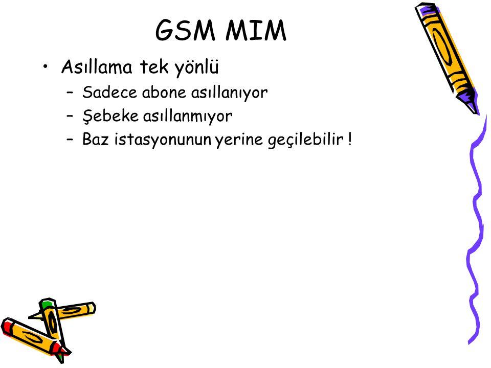 GSM Saldırıları Algoritmalar ilk önce gizli tutuldu Tersine mühendislik ile yapıları öğrenildi ve saldırılar gelmeye başladı: –Golic, 1997 (A5/1) –Gol