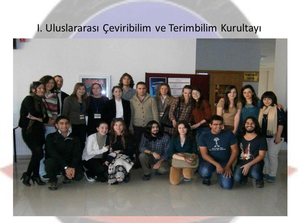 I. Uluslararası Çeviribilim ve Terimbilim Kurultayı