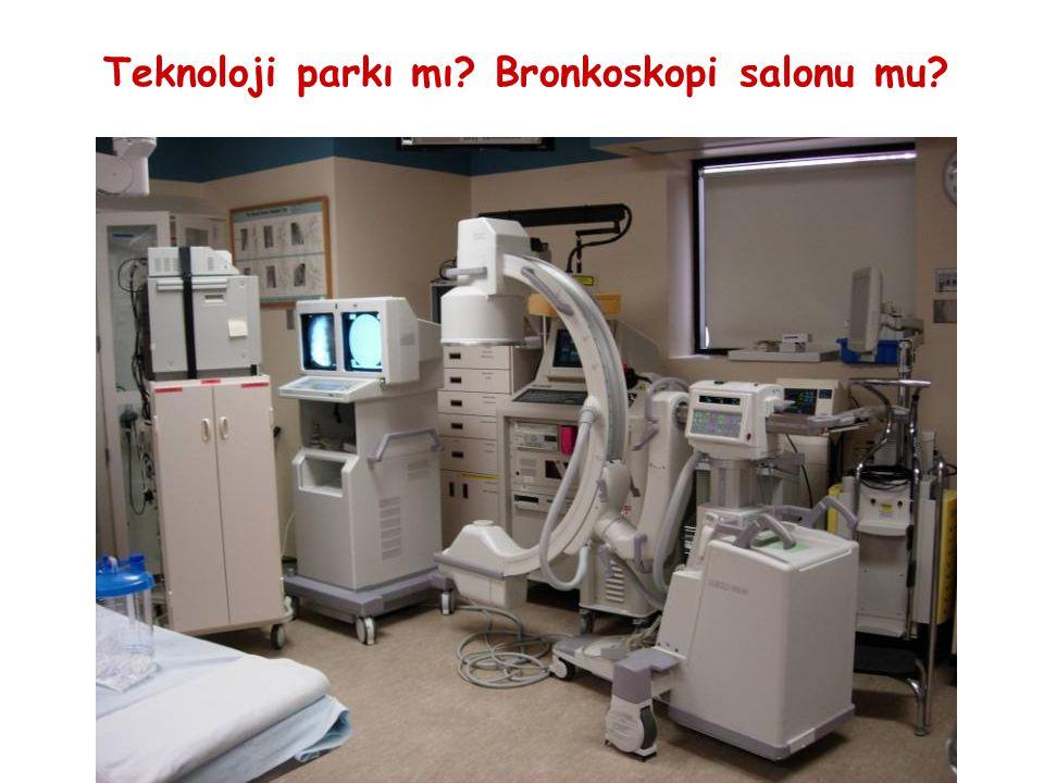 Teknoloji parkı mı? Bronkoskopi salonu mu?