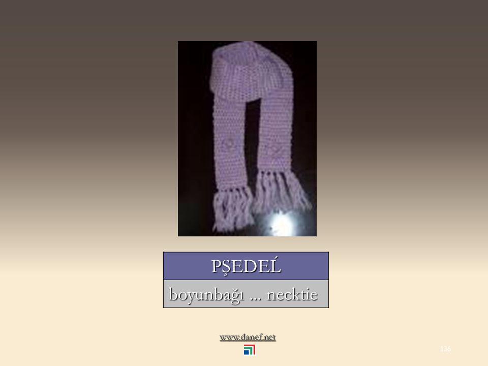 www.danef.net PŞAM Ṕ E yaka... collar 135