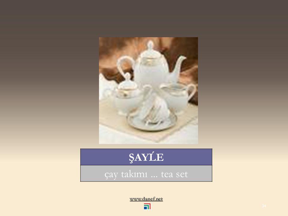 www.danef.net ŞANİK çaydanlık... teapot 33